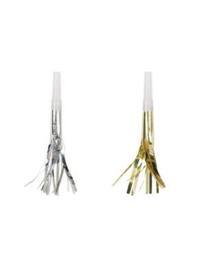Horn / Fløyter (8stk): Gull & Sølv