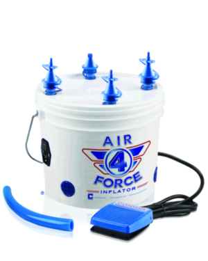 Pumpe: Air Force 4 - Elektrisk pumpe
