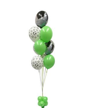 Ballongbukett: Green Football