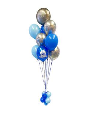Ballongbukett: Keep Calm & Celebrate