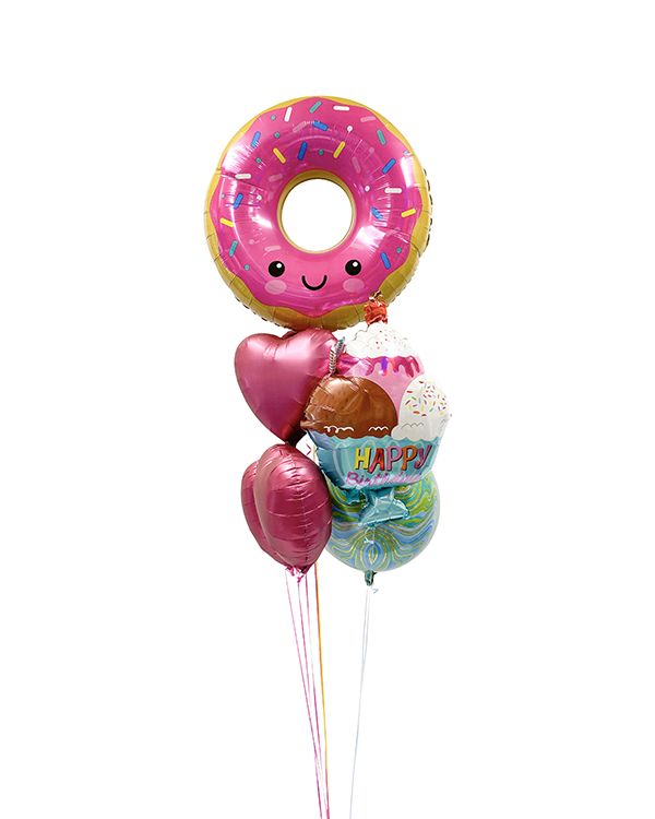 Ballongbukett: Sweet Donut
