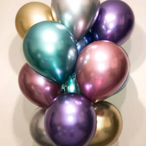 Lateksballonger uten trykk