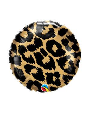 Folieballong: Leopard Mønster - 43cm