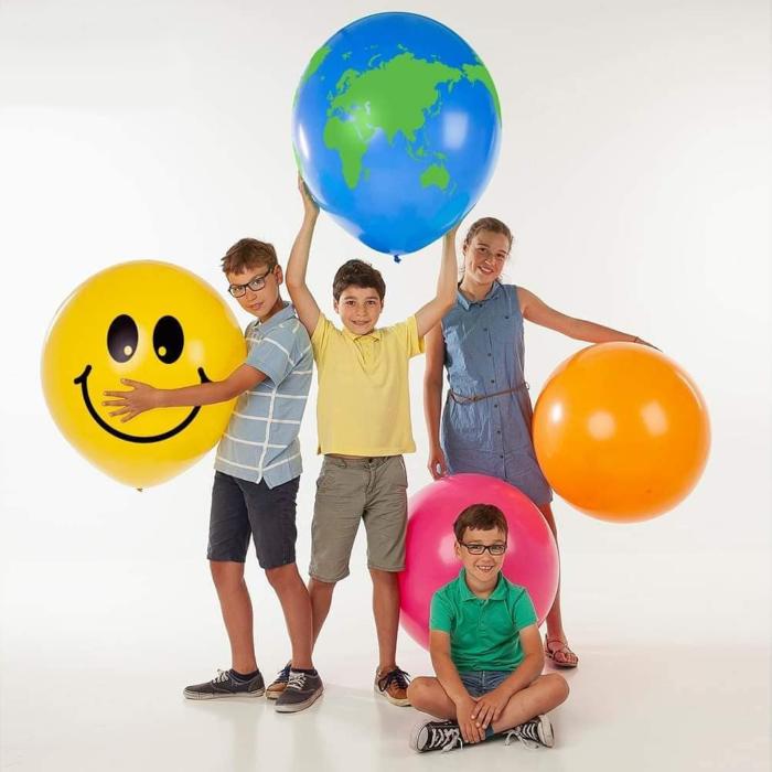 Store lateksballonger