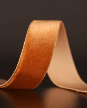 Bånd: Velvet - Copper 15mm x 3meter
