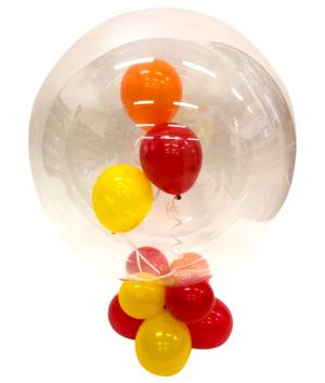 Borddekorasjon: Floating balloon bubble