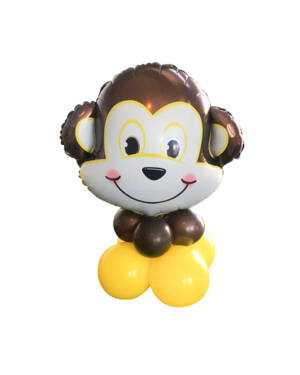 Borddekorasjon: Monkey Centerpiece