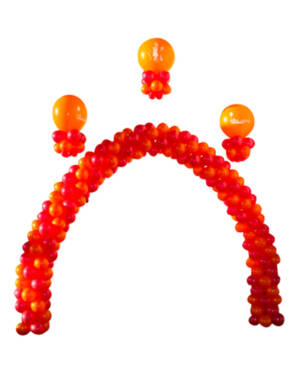 Girlanderbue med ballongdekor: Rakaposhi