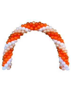 Girlanderbue: Orange spiral arch