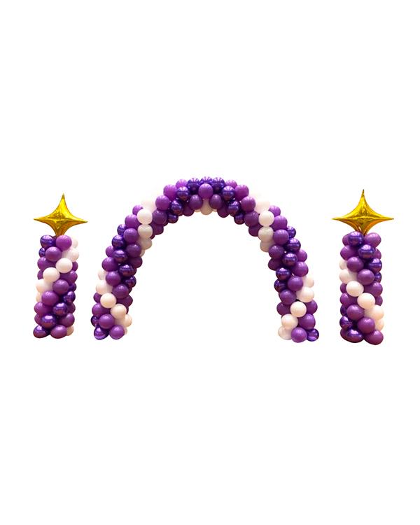 Girlanderbue: Purple swirl bundle
