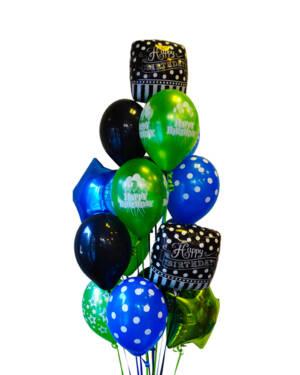 Ballongbukett: Dotty Birthday