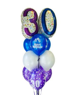 Ballongbukett: The Big 30