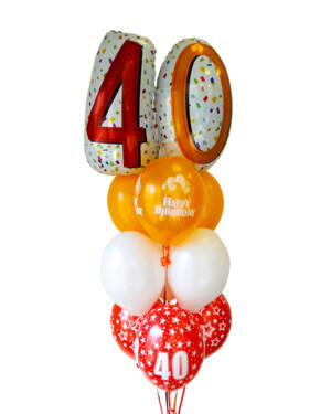 Ballongbukett: The Big 40