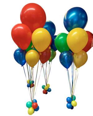 Ballongbukett: Colorful Jumbo Splash!