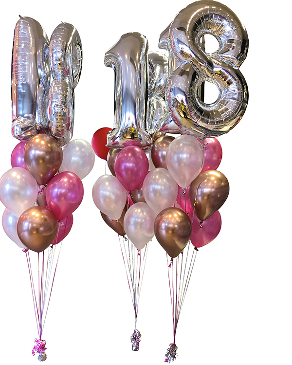 Ballongbukett: Sweet Numbers