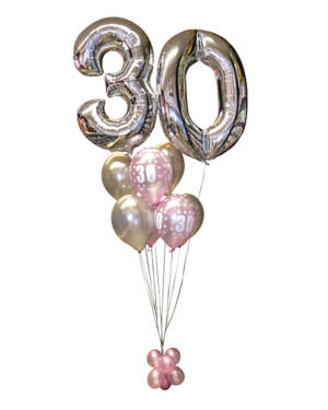 Ballongbukett: Special Numbers