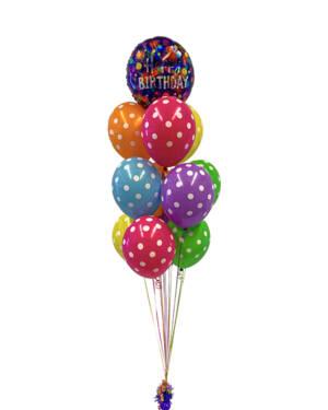 Ballongbukett: Dottyyyy Birthday