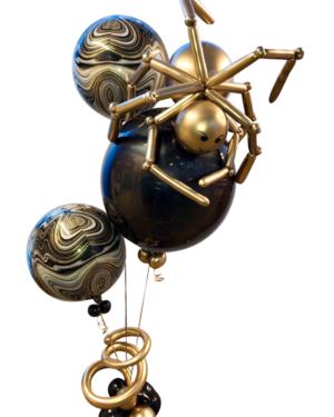 Ballongbukett: Golden spider