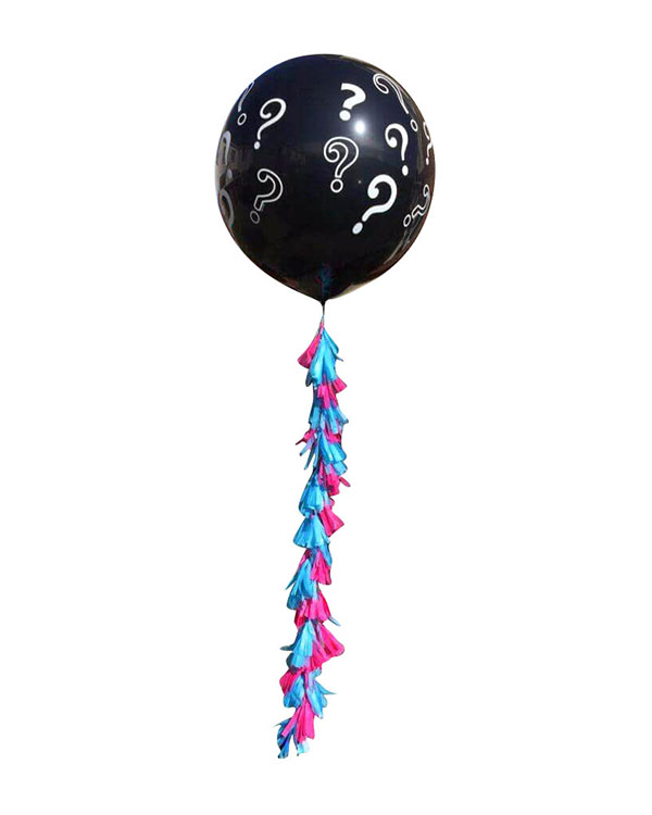 Jumbo ballong: Gender reveal balloon