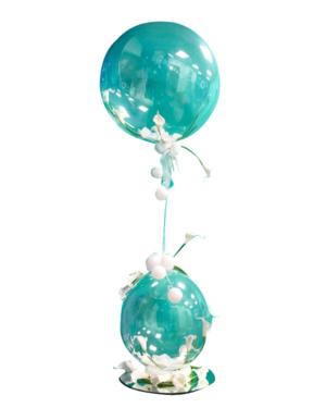 Jumbo ballong: Lily Double Bubble