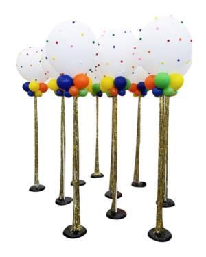 Jumbo ballong: Pom pom fun tower
