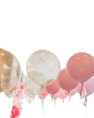 Jumbo ballong: Jumbo baby girl