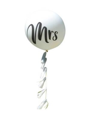 Jumbo ballong: Mrs.