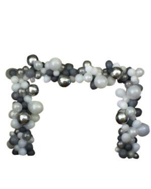 Organisk bue: Silvery orb arch