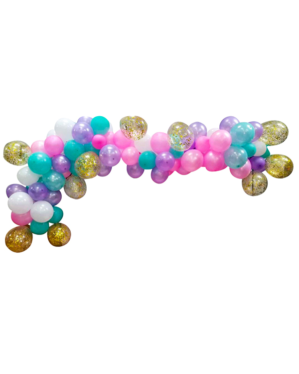 Organisk klase / bue:  Candyshop balloon arch