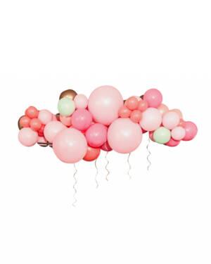 Organisk klase / Bue: Mini petal pink dream