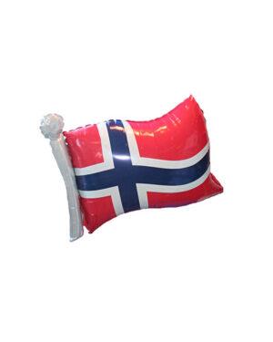 Folieballong: Norsk flagg - 83 x 63cm