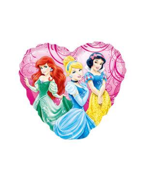 Folieballong: Prinsesser i hagen - 23cm