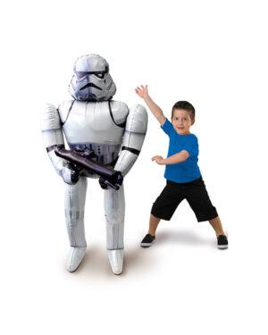 Folieballong: Star Wars Storm Trooper - 177 x 83cm