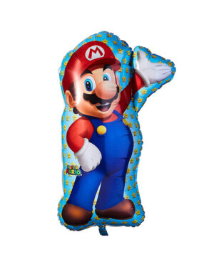 Folieballong: Super Mario Full Figur - 83cm