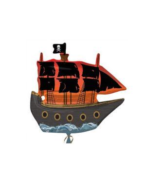 Folieballong: Pirat Skip - 76cm