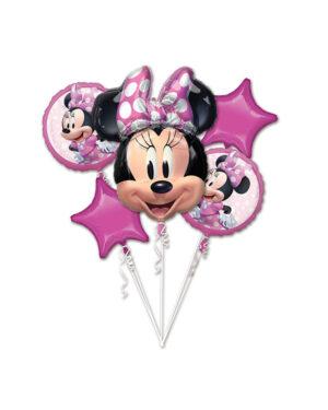 Ballongbukett: Minnie Mouse Forever