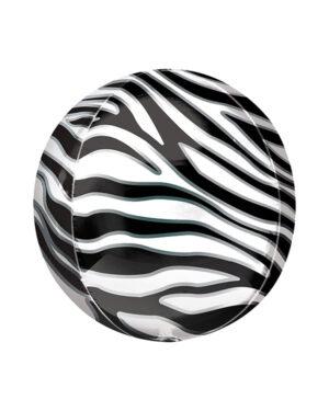 Orbz: Zebra print - 38 x 40cm
