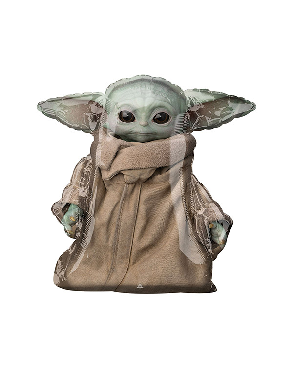 Folieballong: Gående Star Wars Mandalorian The Child