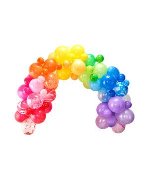 Ballongbue KIT: Regnbue - DIY - Gjør-det-selv