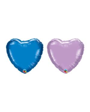 Folieballong: Hjerte - 10cm