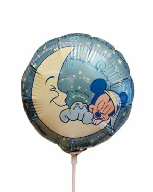 Folieballong: Mikke Mus - It's a Boy - Liten