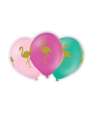 Lateksballong: Flamingo - Flere farger - 30cm - Per stk