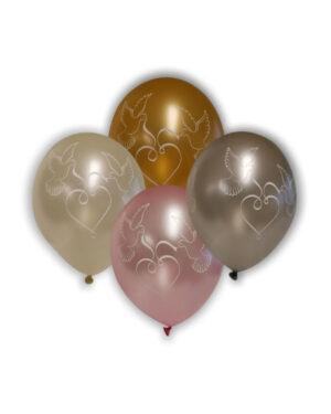 Lateksballong: Duer - Flere farger - 30cm