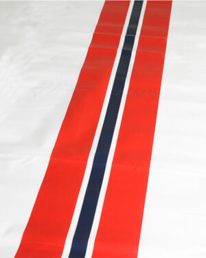 Duk: Rød, Hvit og Blå - 140x180cm